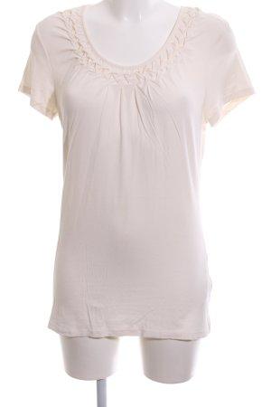 Set T-Shirt wollweiß Casual-Look