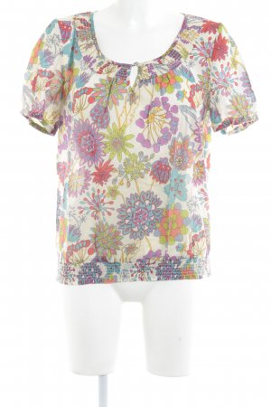 Set T-shirt bloemenprint casual uitstraling