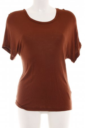 Set T-Shirt rostrot Casual-Look