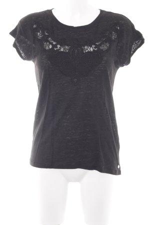 Set T-Shirt schwarz Casual-Look