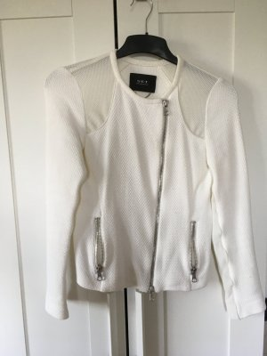 Set Wool Blazer white cotton