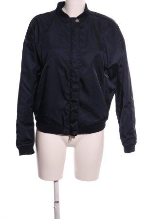 SET Urban Deluxe College Jacket black casual look