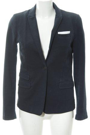 SET Urban Deluxe Jerseyblazer dunkelblau Casual-Look