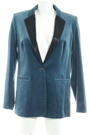 SET Urban Deluxe Blazer largo azul aciano