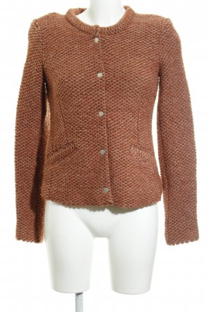 SET Urban Deluxe Strickjacke rostrot Casual-Look