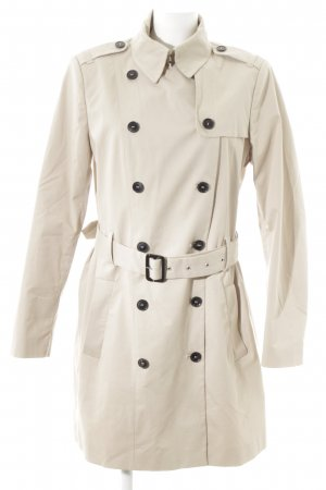 SET Urban Deluxe Trenchcoat creme Business-Look