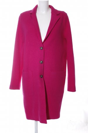 SET Urban Deluxe Wollmantel pink Casual-Look