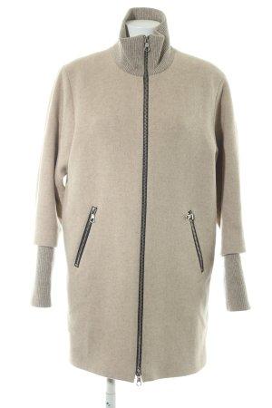 SET Urban Deluxe Wool Coat beige material mix look