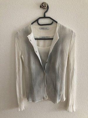 Natan Ensemble en tricot blanc-argenté