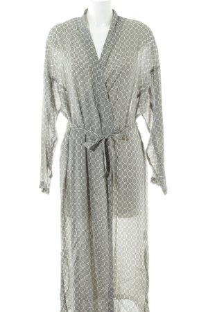 Set Robe portefeuille imprimé allover style simple