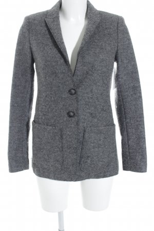 Set Woll-Blazer grau Business-Look