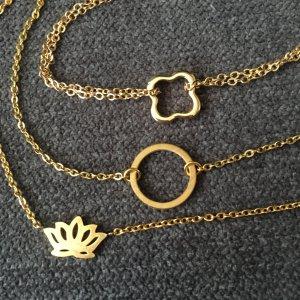 Setpreis Armbänder gold aus Edelstahl