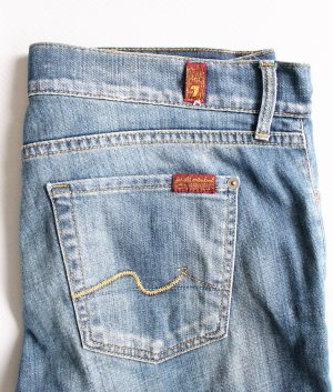 Seven 7 For All Mankind - Jeans Gr 38 / W 30 L 33