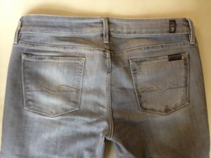 Seven 7 for all mankind Jeans grau 32 40