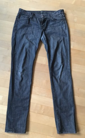 Seven 7 for all Mankind Jeans Grau Roxanne W30