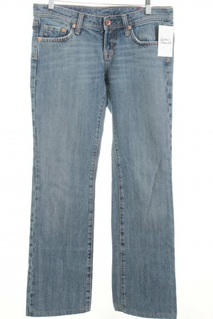 Seven Boot Cut Jeans blau Casual-Look