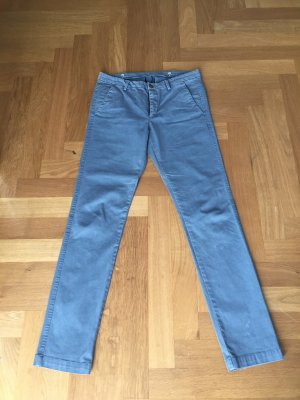 7 For All Mankind Chinos azure cotton