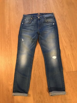 Seven For All Mankind 27 blau relaxed Skinny