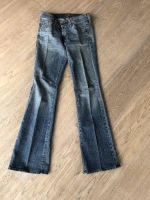 Seven7 Low Rise Jeans blue