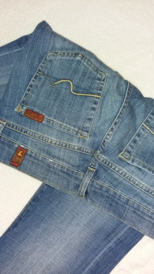 7 For All Mankind Boot Cut spijkerbroek korenblauw