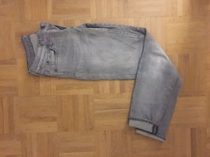 7 For All Mankind Vaquero de corte bota gris