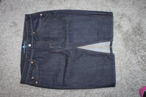 Seven For all Mankind Jeansrock Rock Bleistiftrock Dunkelblau 30-31 neu