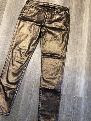 Tube jeans veelkleurig