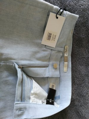 7 For All Mankind Pantalone a vita alta azzurro-azzurro