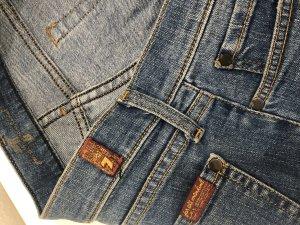 Seven7 Slim jeans blauw