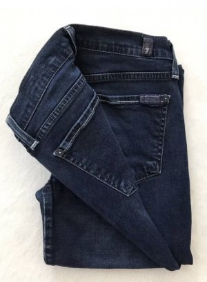 SEVEN FOR ALL MANKIND The Skinny Jeans | Dunkelblau | 34, W26