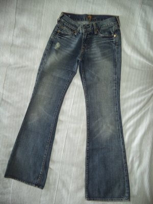 Seven-Jeans, Modell Flare, Jeans, W 25