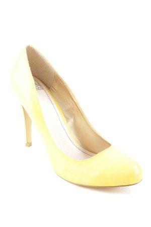 Seven seconds High Heels dunkelgelb Elegant