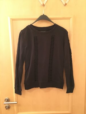 Seven Sister Pullover Sweater Ripped Destroyed Used Risse Löcher Blogger Trend
