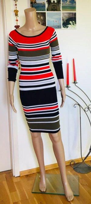 Seven Sisters Gebreide jurk veelkleurig