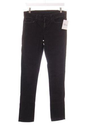 Seven Slim Jeans schwarz klassischer Stil