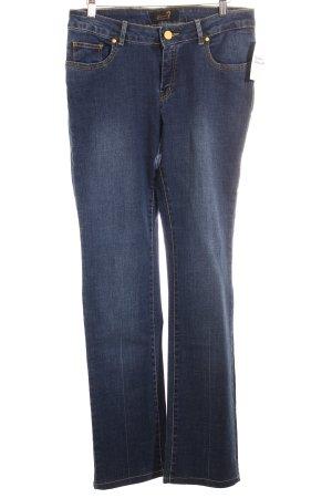 Seven Straight-Leg Jeans blau Casual-Look