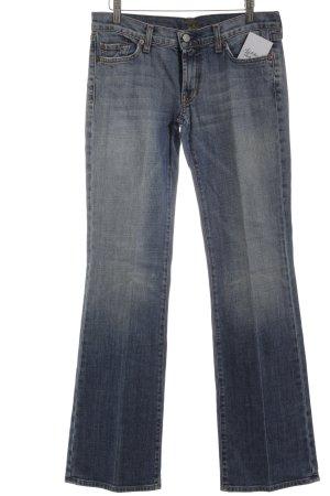 Seven Straight-Leg Jeans graublau Casual-Look