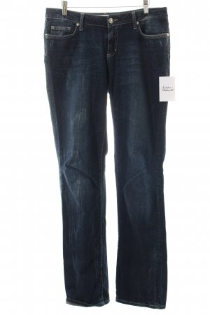 Seven7 Boot Cut Jeans dunkelblau Casual-Look