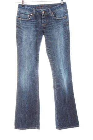 Seven7 Jeans svasati blu stile casual