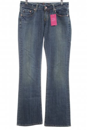 Seven7 Boot Cut Jeans graublau-creme Casual-Look