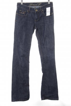 Seven7 Boot Cut Jeans stahlblau Casual-Look