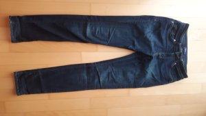 Seven7 dunkelblaue Slimfit Jeans