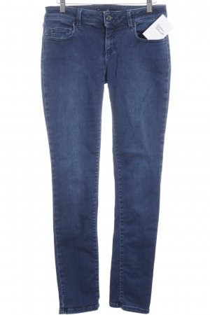 Seven7 Low Rise jeans staalblauw Jeans-look