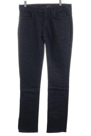 Seven7 Spijkerbroek donkerblauw casual uitstraling