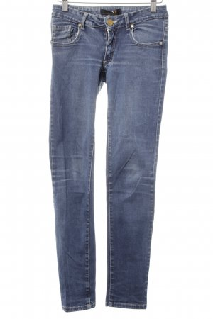 Seven7 Skinny jeans blauw casual uitstraling