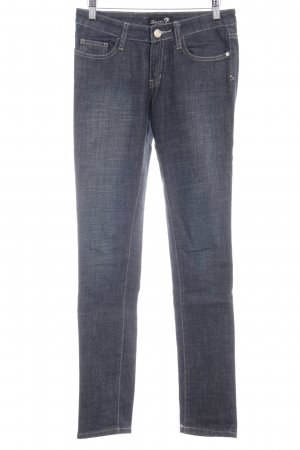 Seven7 Skinny jeans donkerblauw casual uitstraling