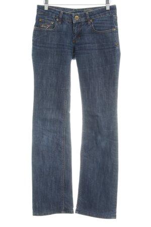 Seven7 Straight-Leg Jeans dunkelblau meliert Casual-Look