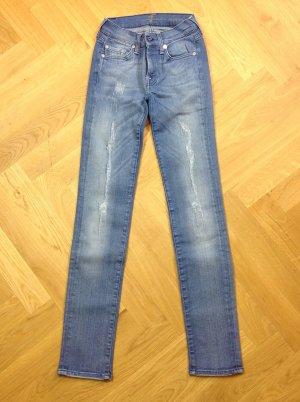 Sevens Jeans Gr. 24 blau