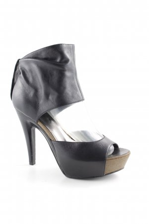 Sex and the City Tacones con plataforma negro estilo fiesta