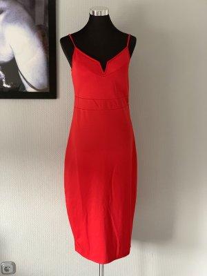 Ball Dress red mixture fibre